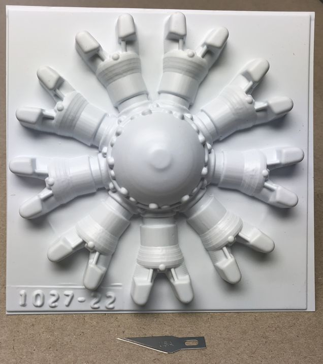 5 1/2 radial front 9cyl P/N 1027-22