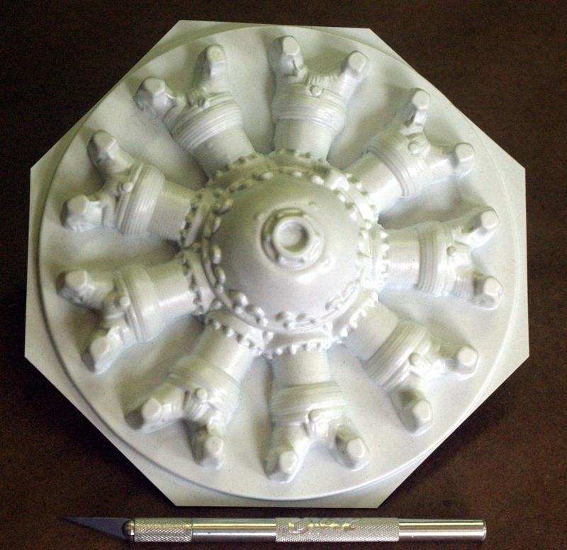 6 inch 9 Cylinder Radial Face P/N 1027-50