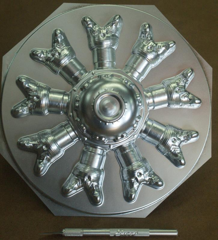 8 inch 9 Cylinder Radial Face P/N 1027-53