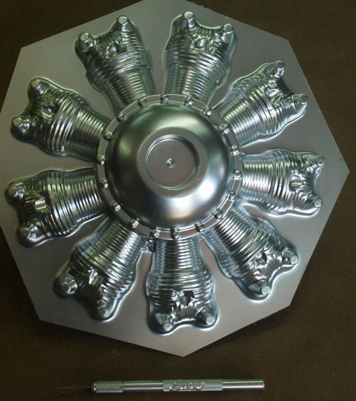 9 1/4 inch 9 cylinder Radial Face P/N 1027-55