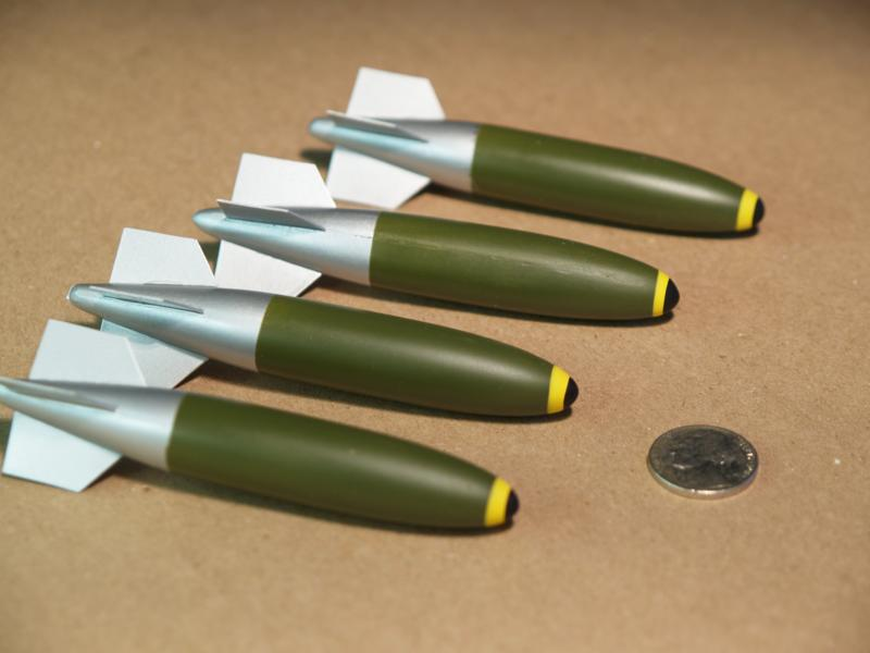 4in x 5/8in Makes 4 Bombs Type 1 or 2 P/N 1037-11