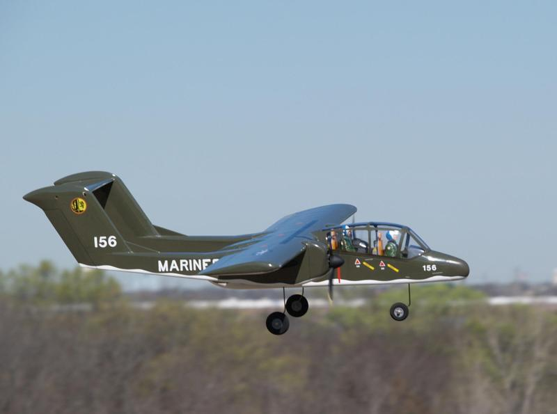 OV-10 BRONCO WITH Plans