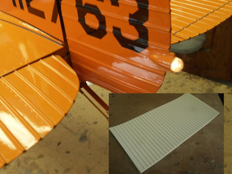 1/4 Scale Corrugated panels