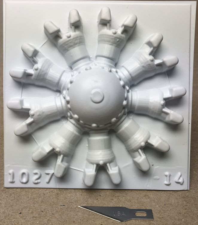 3 3/4in radial front 9cyl P/N 1027-14