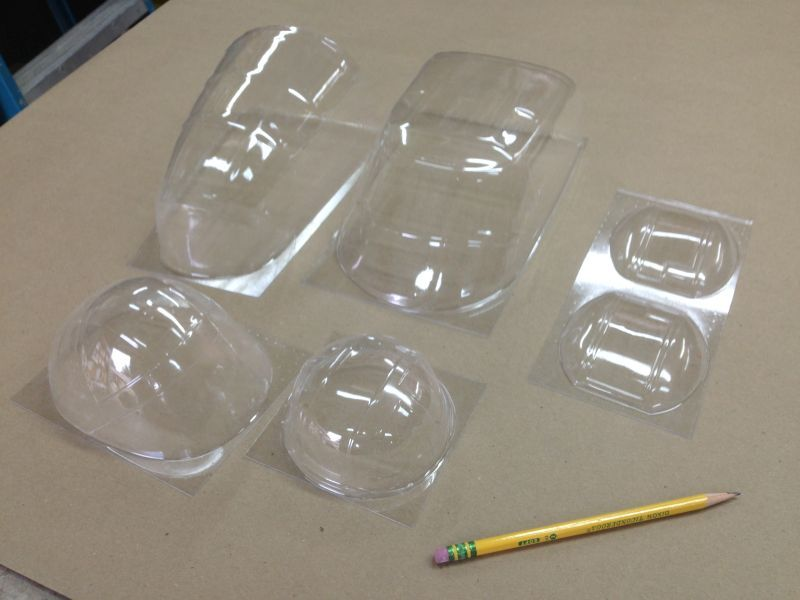 hanger 9 B-25 replacement window set