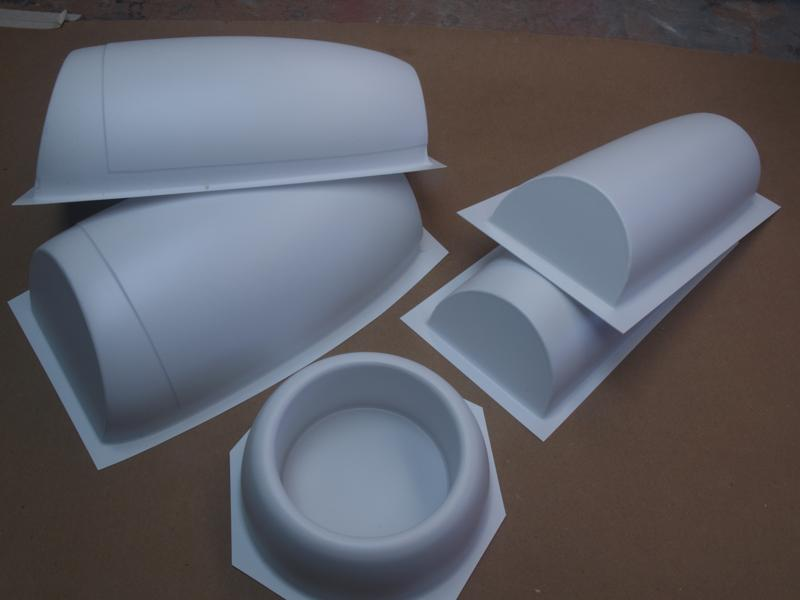 90mm fan nacelle